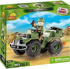 Raptor Small Army Cobi 2122