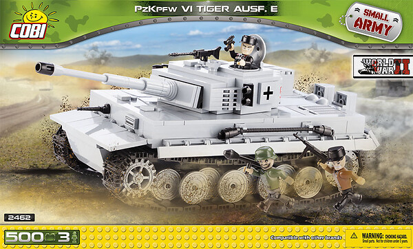 PzKpfw VI Tiger Ausf. E - German heavy tank