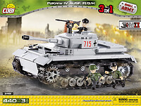 Panzer IV ausf. FI/G/H - German medium tank