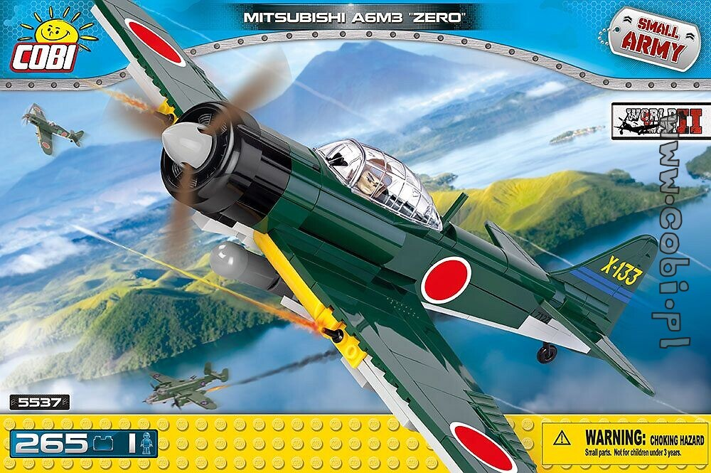 mitsubishi a6m3 zero - historical collection ww2 - für kinder 5