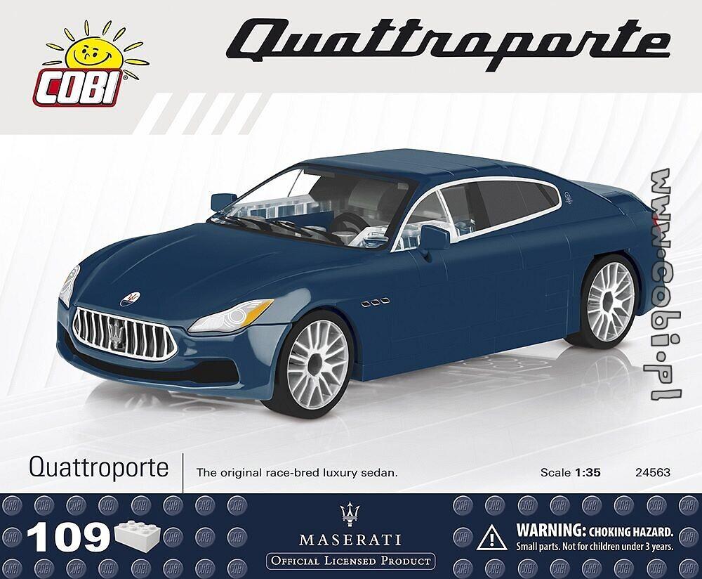 maserati quattroporte - maserati - für kinder 5 | cobi toys