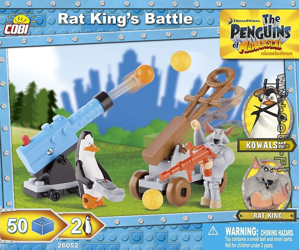 Rat Kings Battle The Penguins Of Madagascar Für Kinder 4 Cobi
