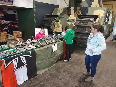 The COBI collection at the Bovington Tank Museum!
