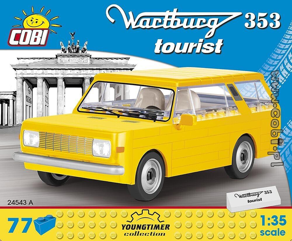 Cobi 24555 Trabant 601 Feuerwehr Spielzeug Baukästen & Konstruktion