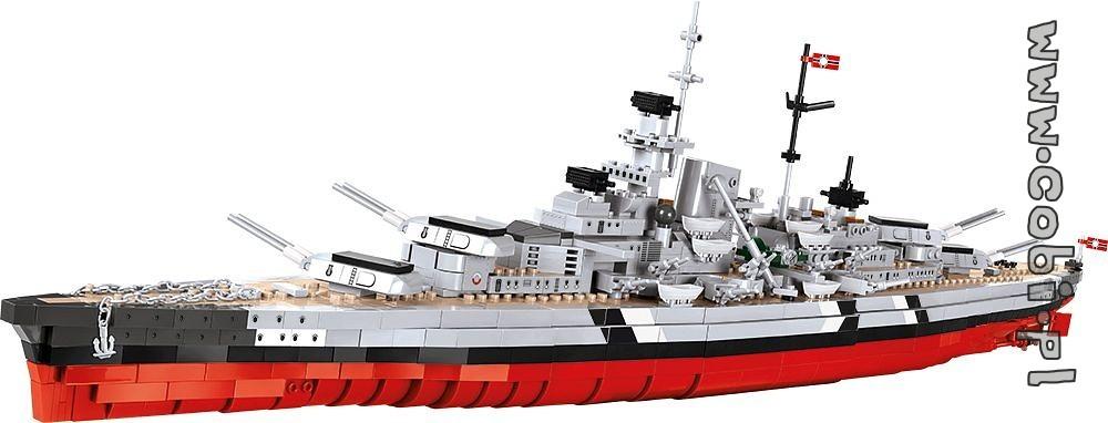 Bau- & Konstruktionsspielzeug-Sets Cobi 3081 Battleship Bismarck