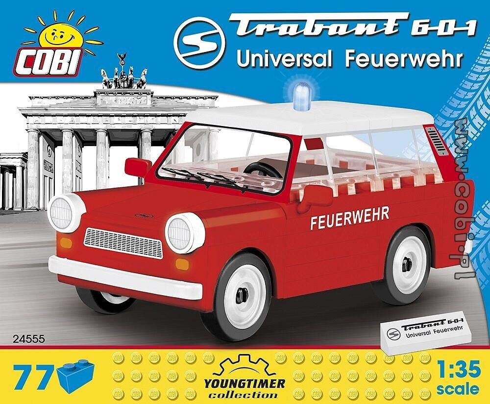 Cobi 24555 Trabant 601 Feuerwehr Spielzeug