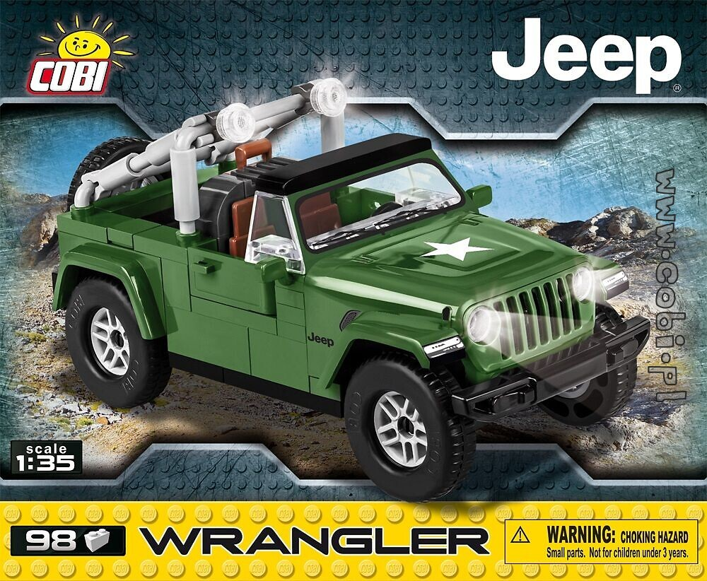 Military Jeep Parts >> Jeep Wrangler Military Jeep Willys For Kids 5 Cobi Toys