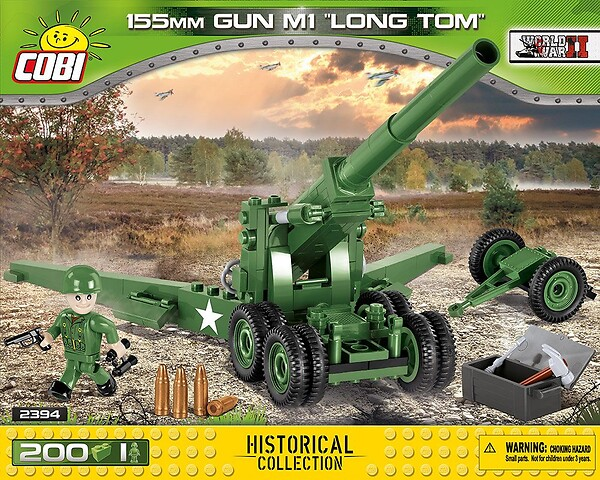 155 mm Gun M1 Long Tom