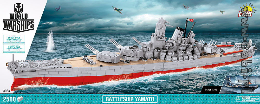 Yamato - japanese battleship