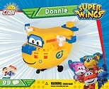 Donnie 99 blocks Super Wings