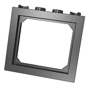 Window frames black
