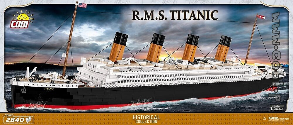 RMS Titanic - Titanic - for kids 10 | Cobi Toys