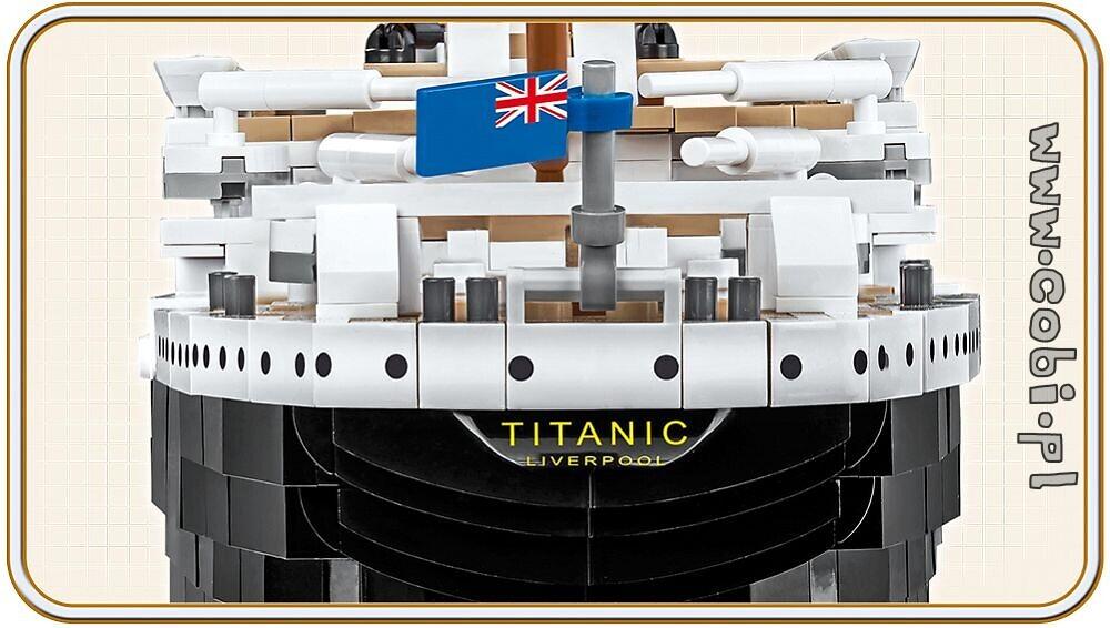 Titanic New COBI Historical Collection R.M.S
