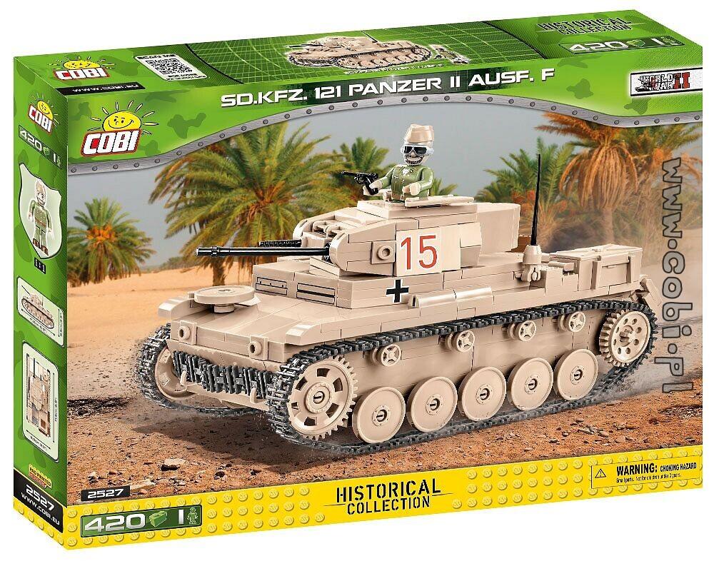 121 Panzer II AUSF 420 pièces F 1 figurine Cobi Tank SD.KFZ