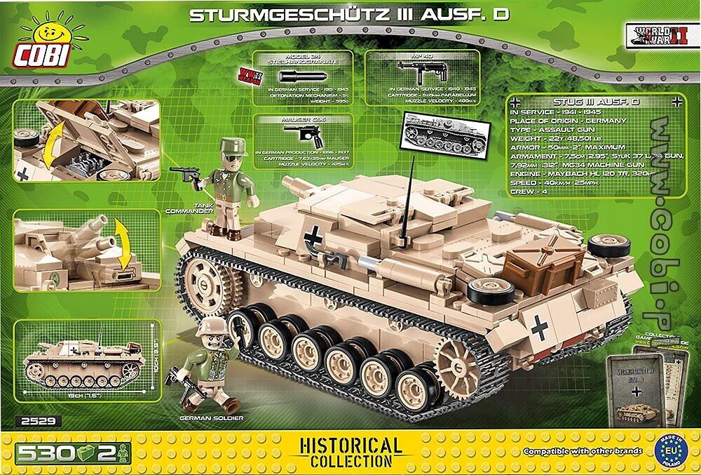 D Multicolor COBI Historical Collection Sturmgeschutz III Ausf