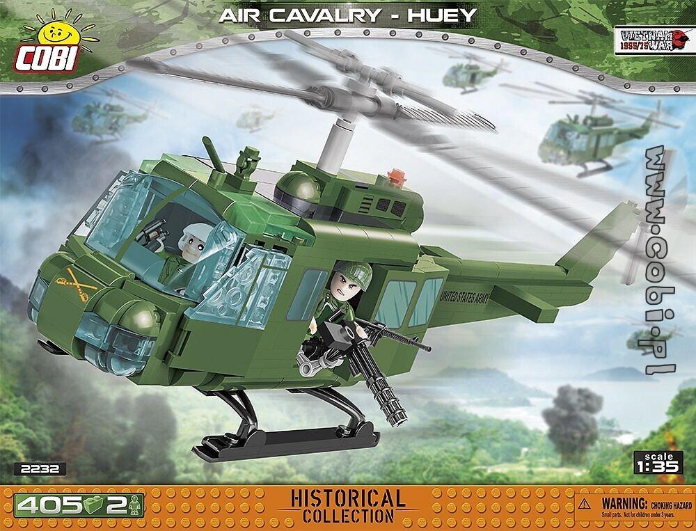 Produkt Archiwalny Air Cavalry Huey Vietnam War For Kids 9 Cobi Toys