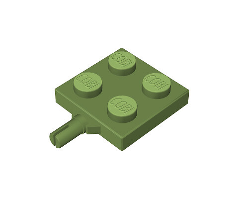 2x2 1/3 chassis, green