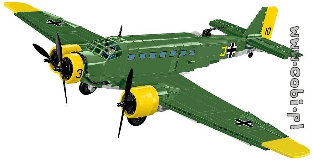Cobi 5710 Historical Collection WWII Ju 52//3m Kreta 548 Bausteine//2 Figuren