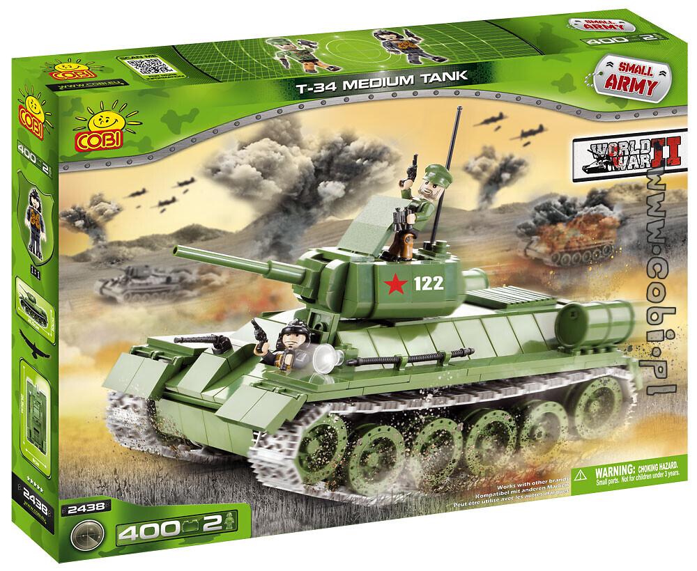 Czołg T-34 Mała Armia Cobi 2438