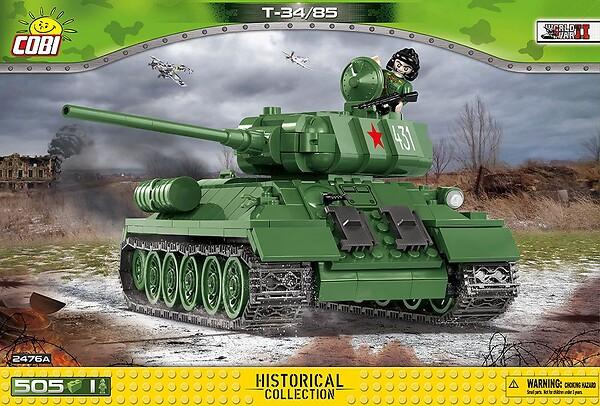 T-34/85 - Soviet tank