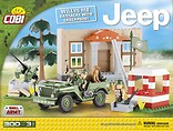 Jeep Willys MB Barracks with Checkpoint