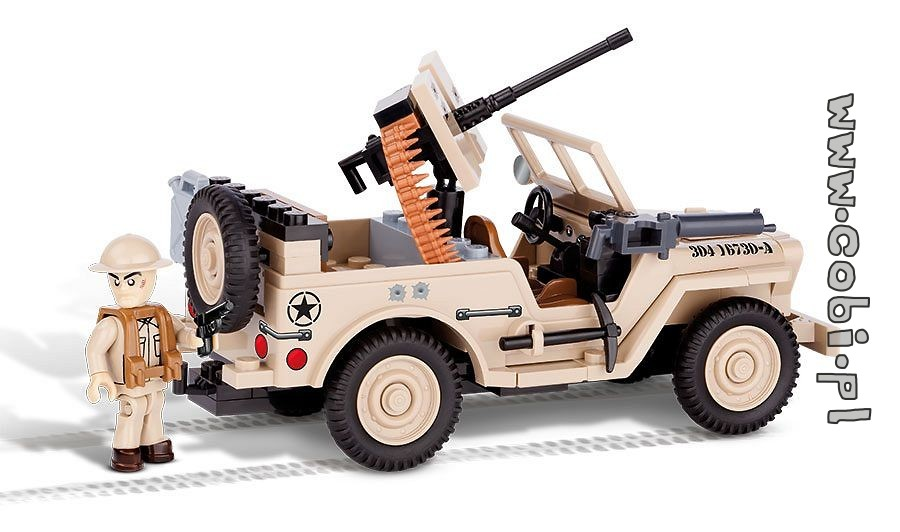 Jeep Willys Mb North Africa 1943 Jeep Willys For Kids 4 Cobi Toys