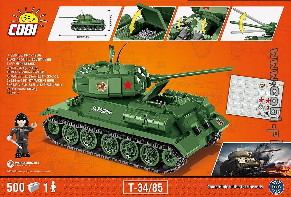 T-34/85 WOT