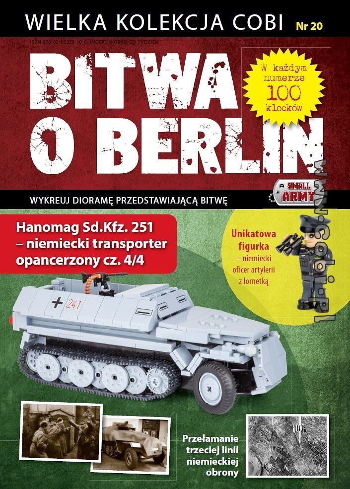 Hanomag Sd.Kfz. 251 (4/4) - Battle of Berlin No. 20