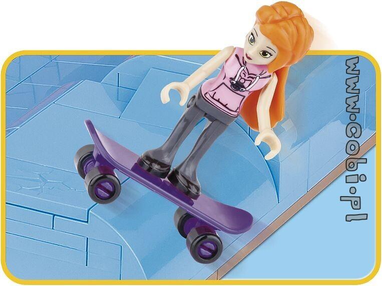COB01881 500 Pcs Mega Fun Skatepark Action Town - Cobi