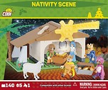 Nativity Scene 140 blocks.