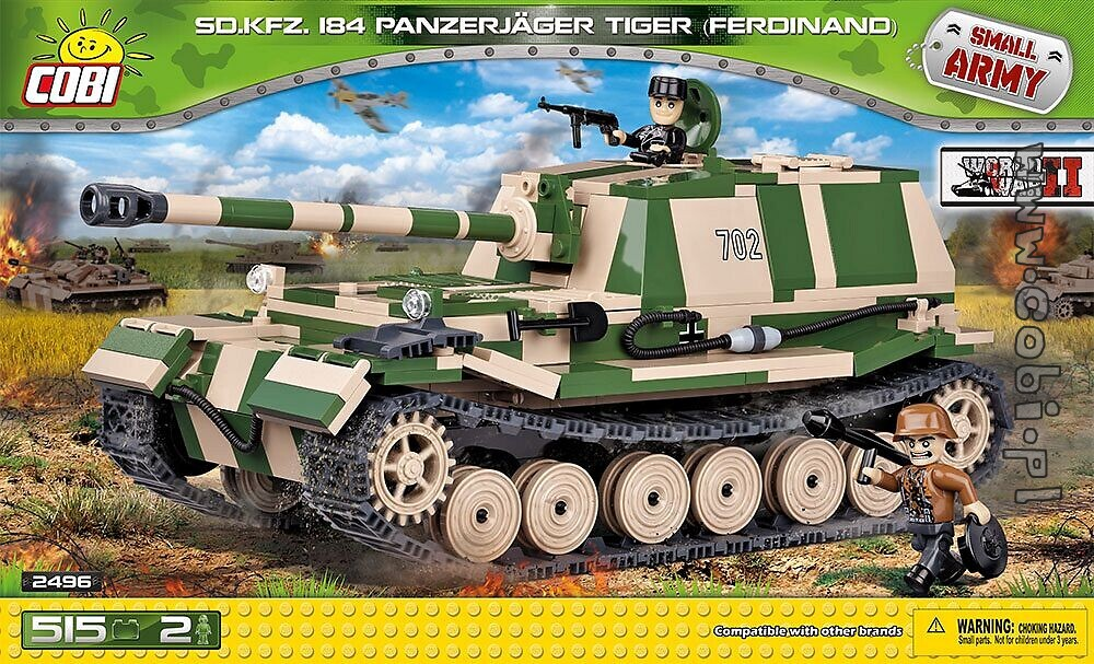 panzerjäger tiger p ferdinand historical collection ww2 cobi