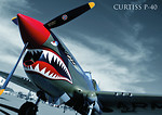 Curtiss P-40B Tomahawk cz.2/4 WW2 Aircraft Collect. No. 16