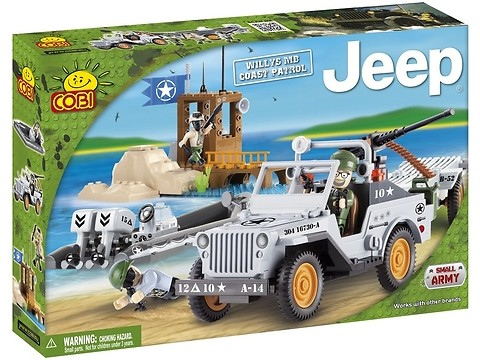 Jeep Willys MB Coast Patrol