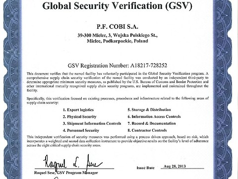 Global Security Verification 2013