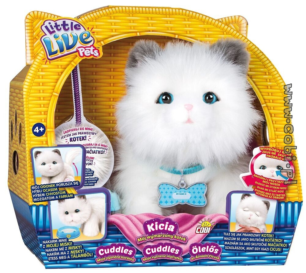 Kicia Mój Wymarzony Kotek Little Live Pets Zabawki