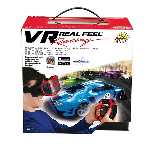 Racing - kierownica i gogle VR Real Feel