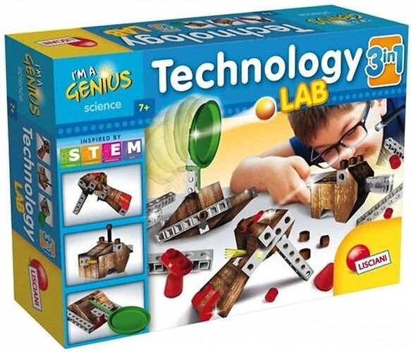 Technology LAB 3w1 - Mały Geniusz