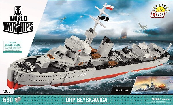 World of Warships ORP Błyskawica