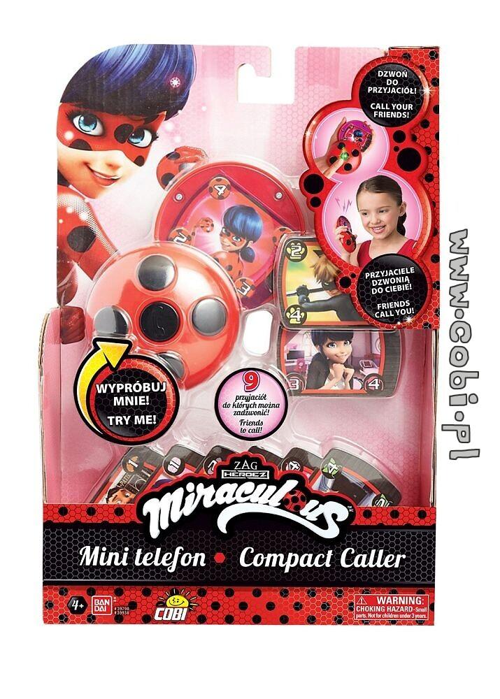 Mini Telefon Miraculous Figurki Bohaterów Filmowych Dla Dzieci