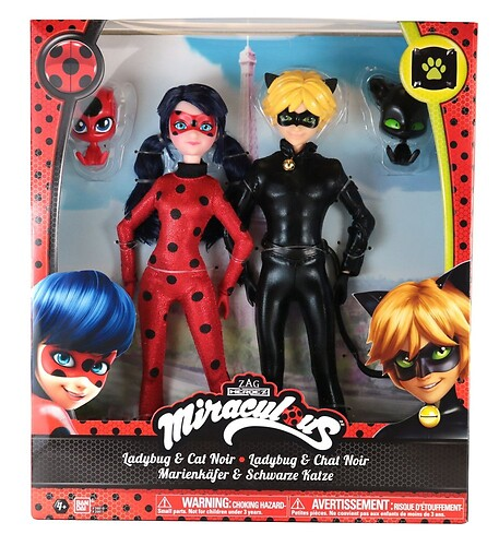 Lalka 2 pack - Miraculous