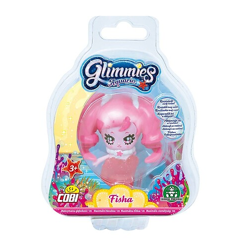 1 Figurka - Glimmies Aquaria