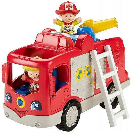 Wóz strażacki małego odkrywcy