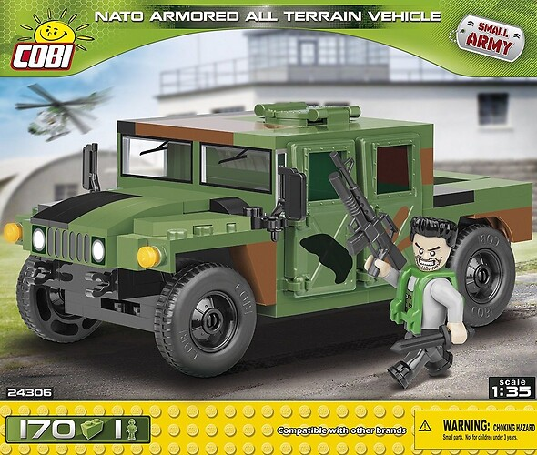 NATO Armored ALL Terrain Vehicle