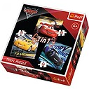 Cars 3 Legendy wyścigu, Puzzle 3w1