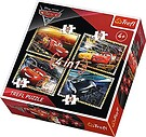 Cars 3 Gotowi do wyścigu, Puzzle 4w1