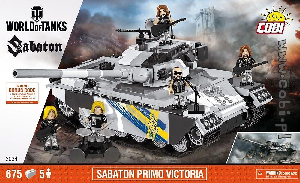 Sabaton Primo Victoria World Of Tanks Klocki Konstrukcyjne Dla