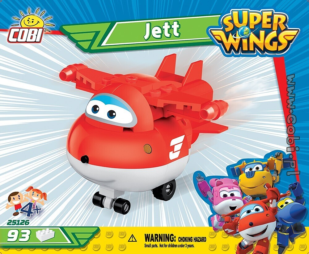 Dżetek 93 kl. Super Wings