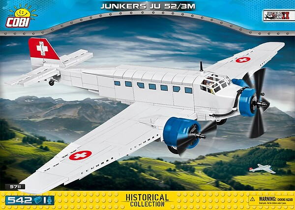 Junkers Ju52/3m - civil version