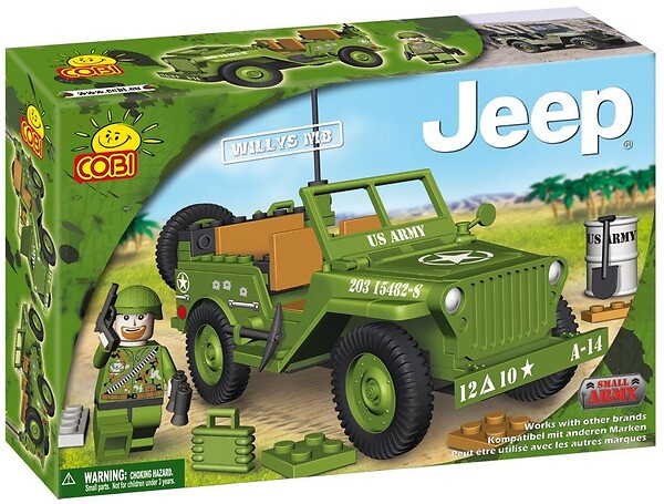 Jeep Willys MB  Small Army Cobi 24110