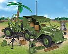 Jeep Willys MB with Mortar Small Army Cobi-24180